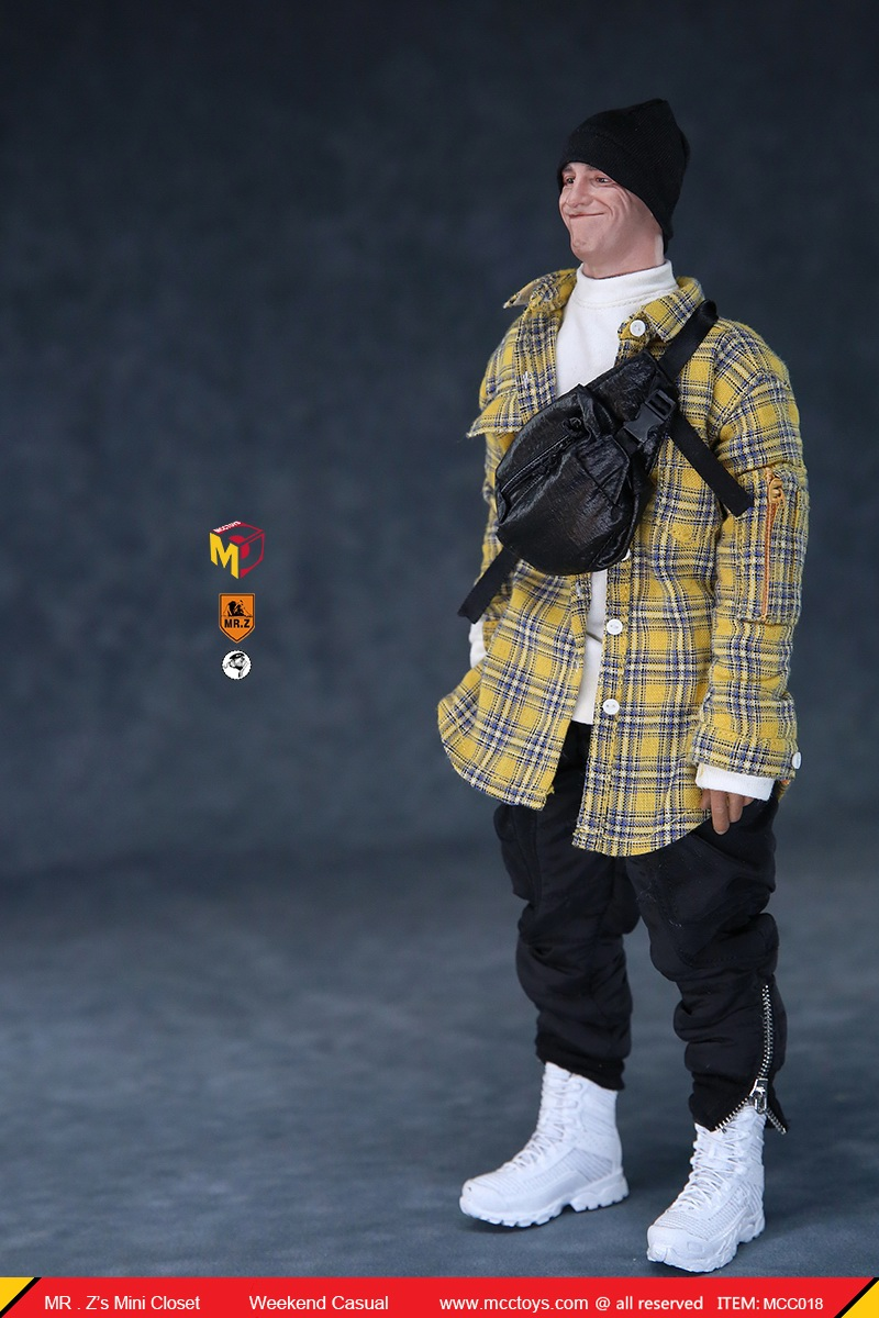 MCCTOys - NEW PRODUCT: MCCToys x Mr.Z: 1/6 Z's Mini Closet Series - Weekend Casual Set (MCC01#) 10116