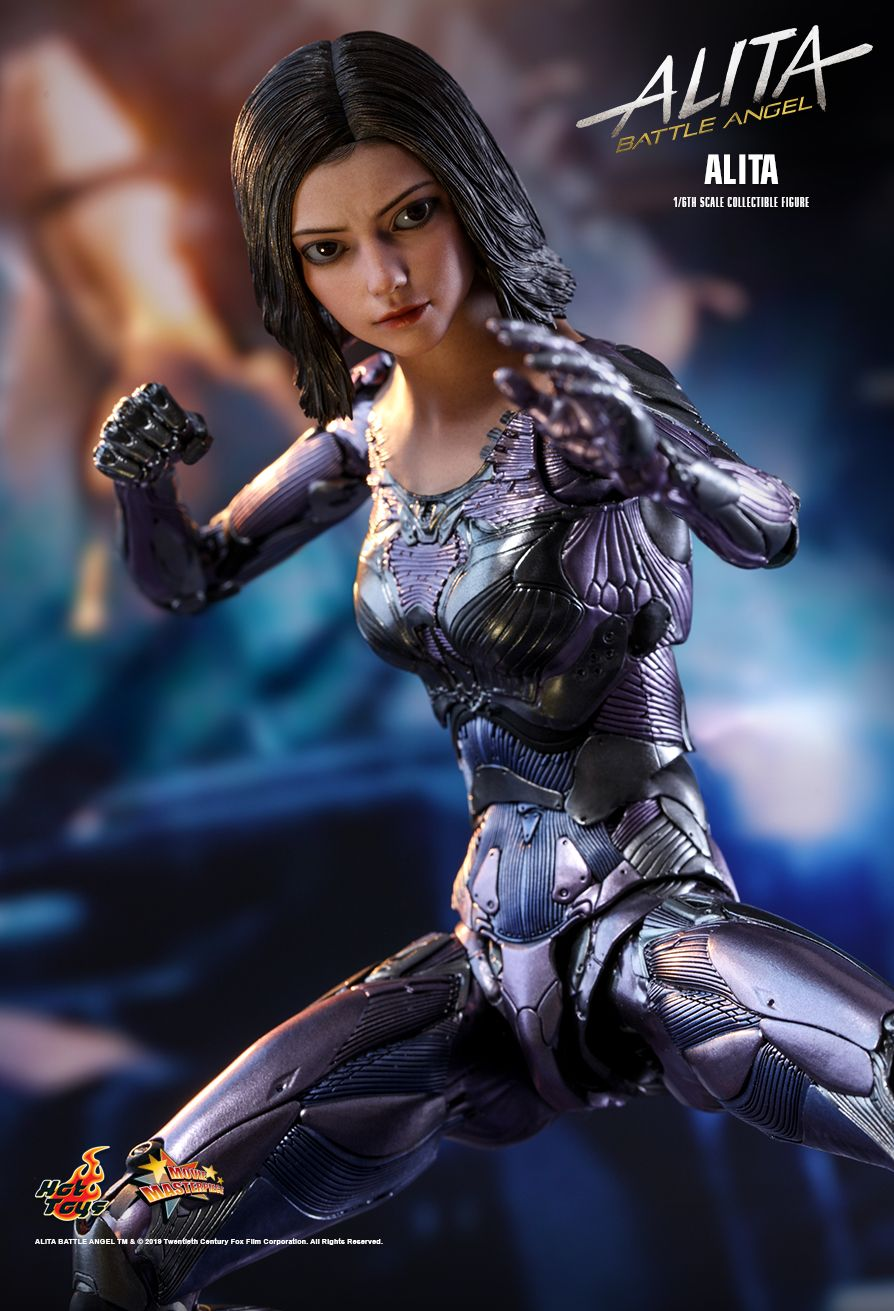 Alita - NEW PRODUCT: HOT TOYS: ALITA: BATTLE ANGEL ALITA 1/6TH SCALE COLLECTIBLE FIGURE 10118