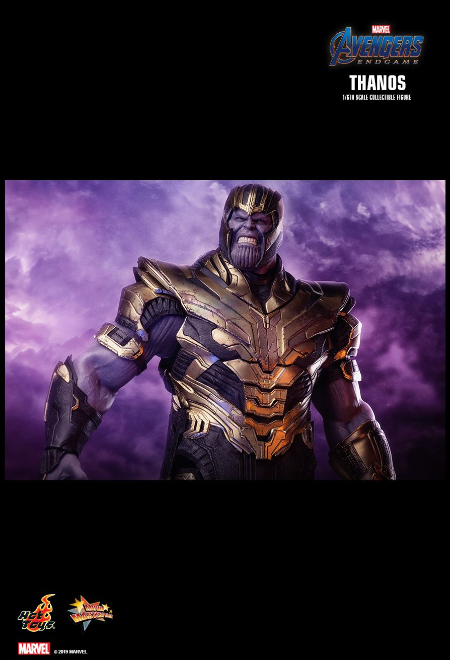 Thanos - NEW PRODUCT: HOT TOYS: AVENGERS: ENDGAME THANOS 1/6TH SCALE COLLECTIBLE FIGURE 10141