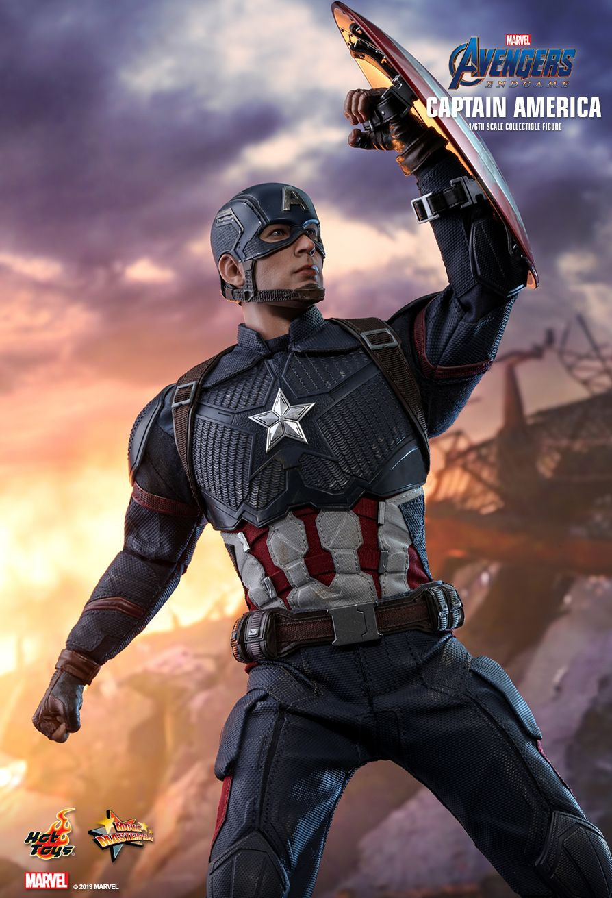 captainamerica - NEW PRODUCT: HOT TOYS: AVENGERS: ENDGAME CAPTAIN AMERICA 1/6TH SCALE COLLECTIBLE FIGURE 10151
