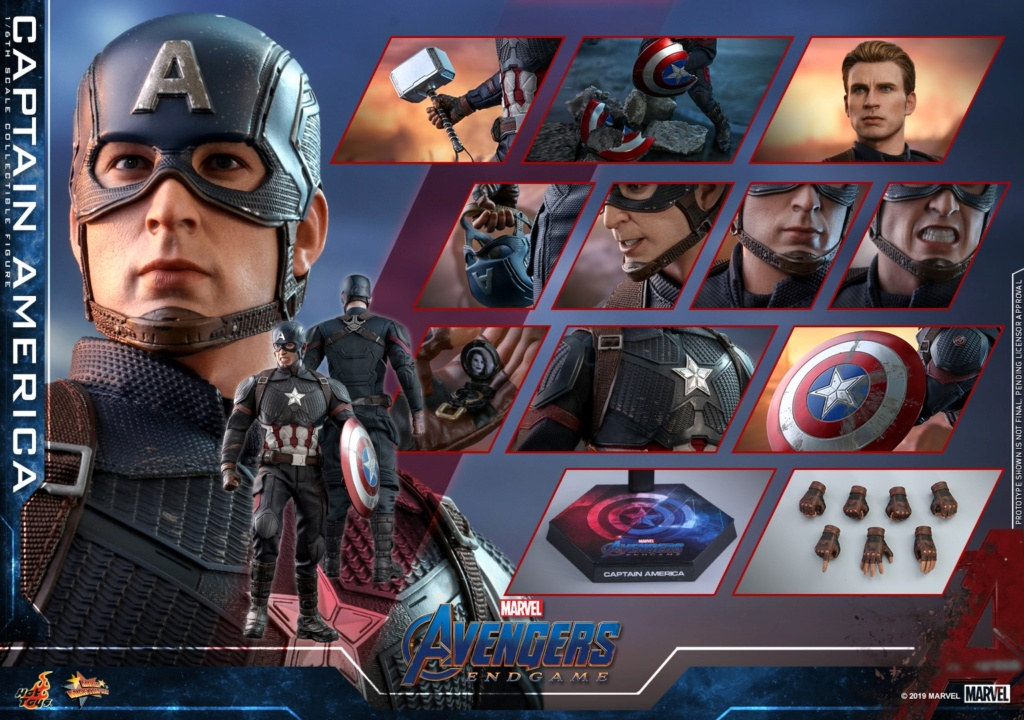 captainamerica - NEW PRODUCT: HOT TOYS: AVENGERS: ENDGAME CAPTAIN AMERICA 1/6TH SCALE COLLECTIBLE FIGURE 10160