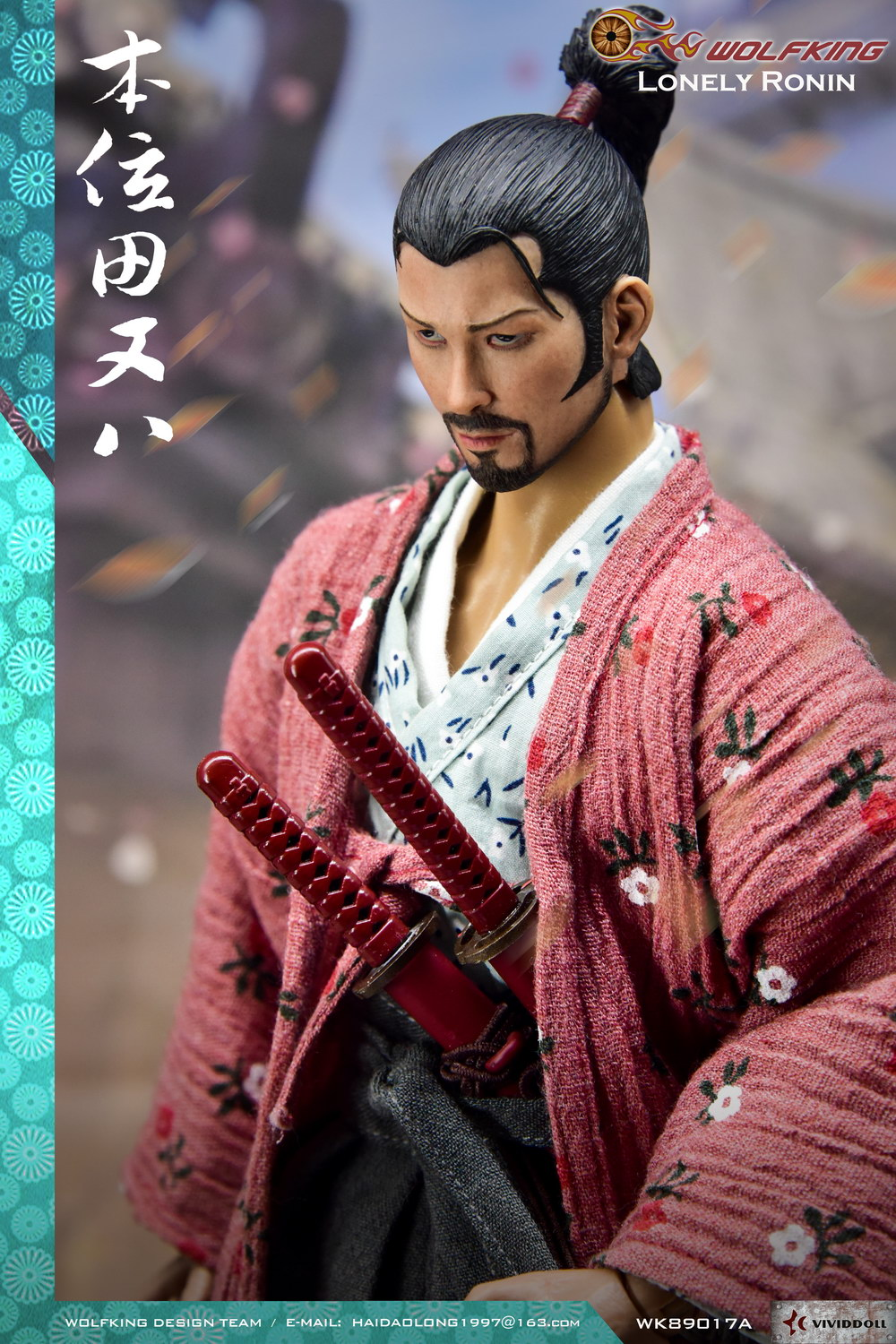 Stylized - NEW PRODUCT: WOLFKING New Products: 1/6 Lonely Ronin - Bian Tian and eight movable dolls WK89017A 10161410