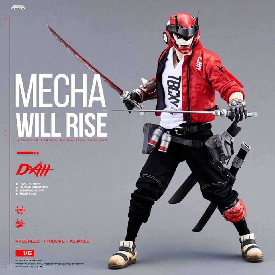 DXIII - NEW PRODUCT: DEVIL TOYS: 1/6 Mecha Will Rise - DXIII, Carbine, & DXIII & Carbine (Set) (DVT1710201801, -802, -803) 10172017