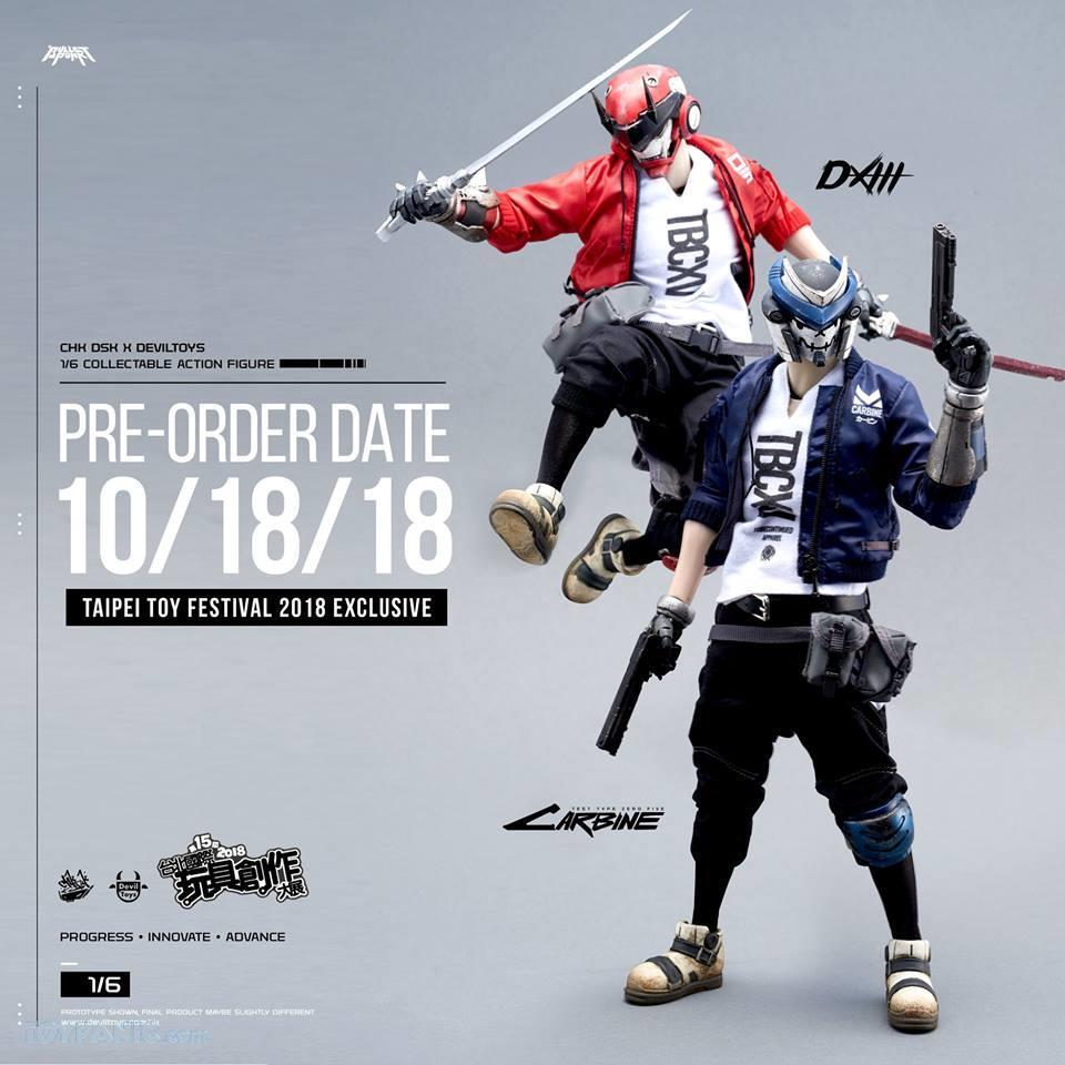 DXIII - NEW PRODUCT: DEVIL TOYS: 1/6 Mecha Will Rise - DXIII, Carbine, & DXIII & Carbine (Set) (DVT1710201801, -802, -803) 10172025