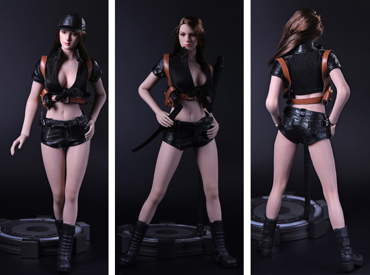 NEW PRODUCT: 1/6 Female Assassin Clothing Set by VS Toys (2 styles) 10173
