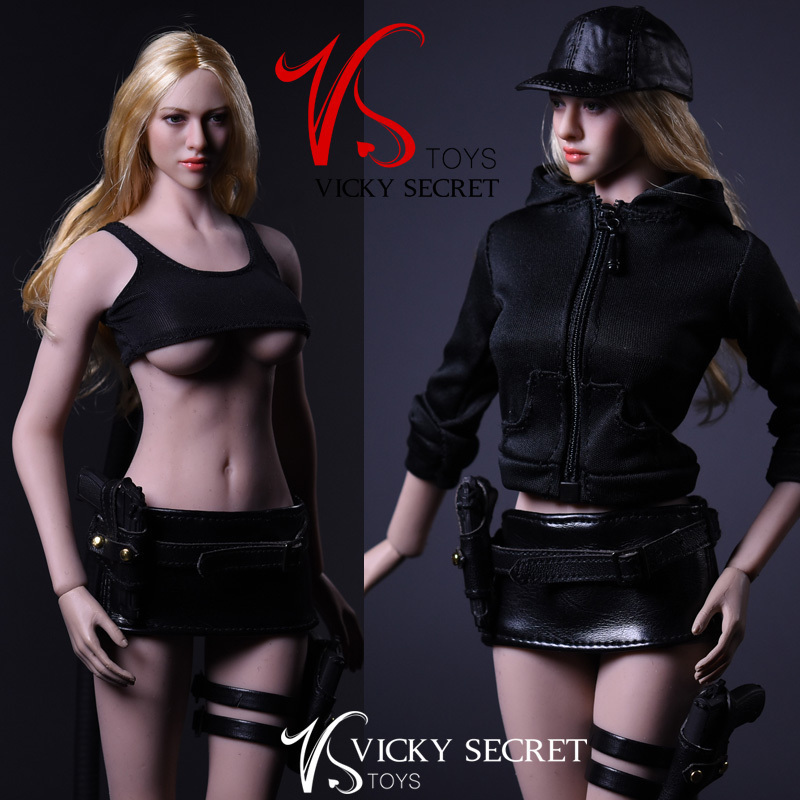 NEW PRODUCT: 1/6 Female Assassin Clothing Set by VS Toys (2 styles) 10174