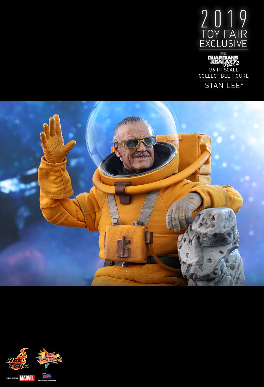 NEW PRODUCT: HOT TOYS: GUARDIANS OF THE GALAXY VOL. 2 STAN LEE® 1/6TH SCALE COLLECTIBLE FIGURE 10181