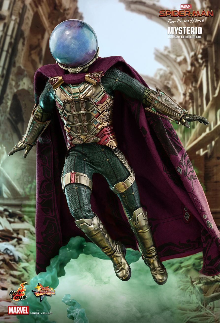 NEW PRODUCT: HOT TOYS: SPIDER-MAN: FAR FROM HOME MYSTERIO 1/6TH SCALE COLLECTIBLE FIGURE 10196