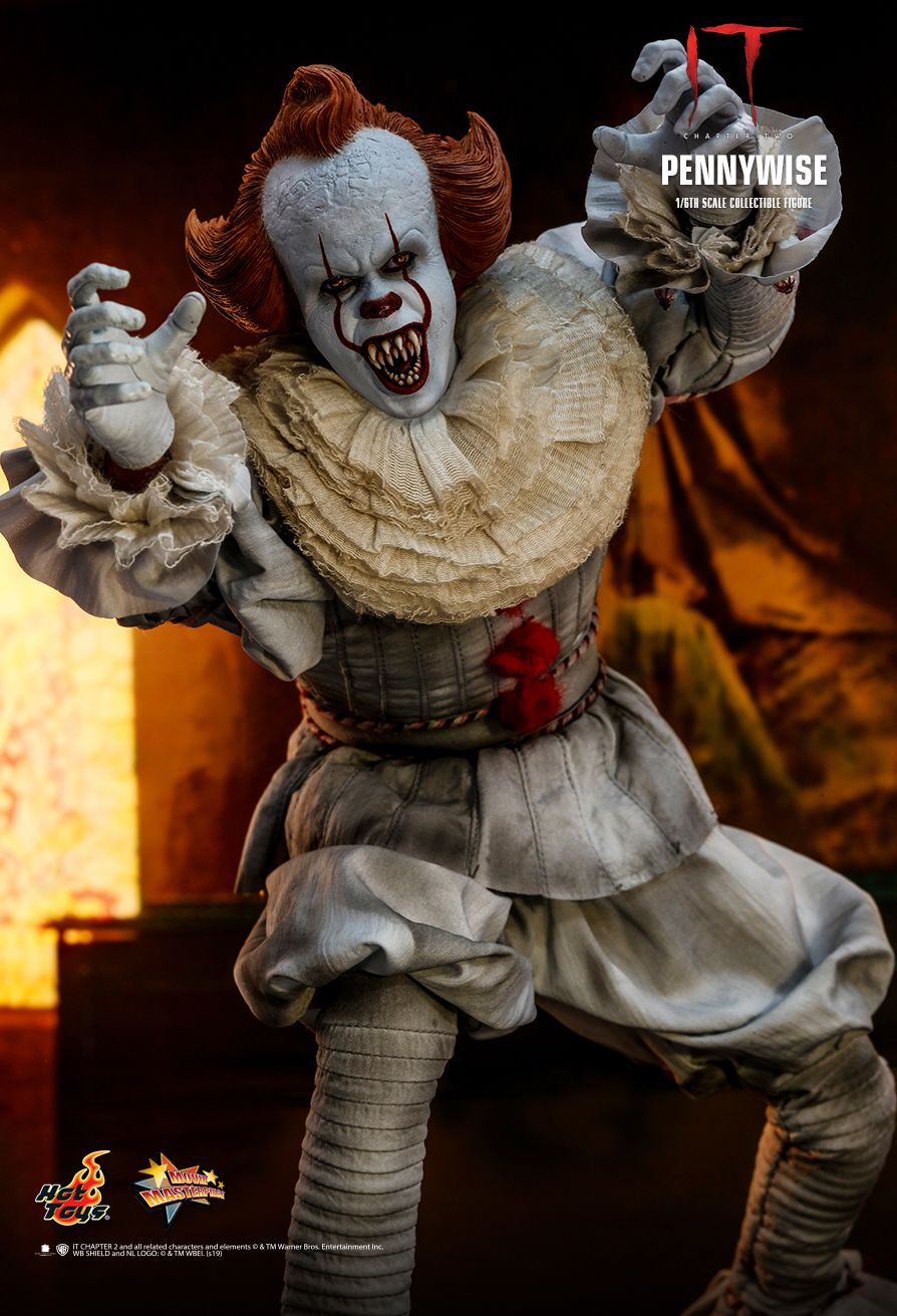 NEW PRODUCT: HOT TOYS: IT CHAPTER TWO PENNYWISE 1/6TH SCALE COLLECTIBLE FIGURE 10197