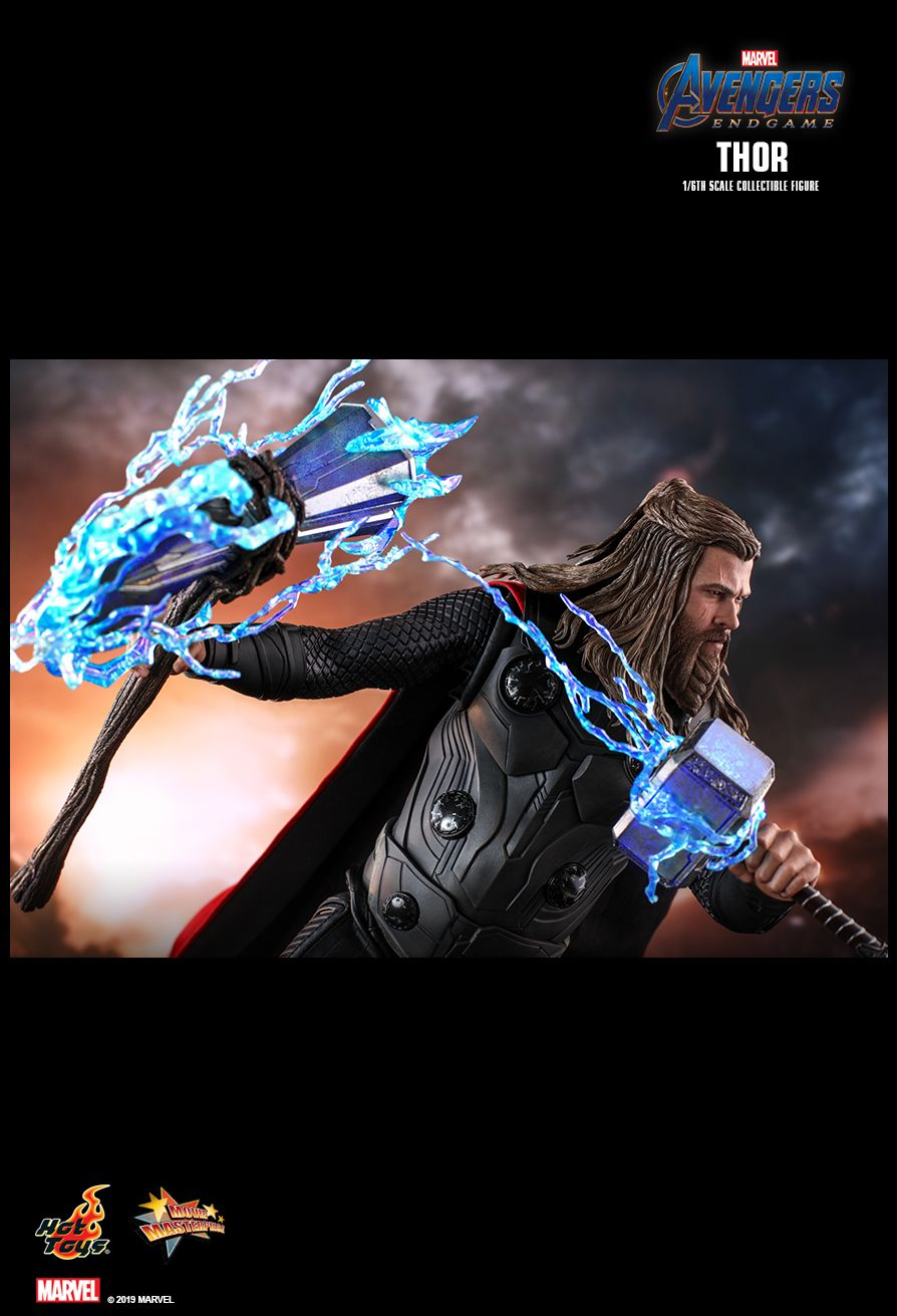 marvel - NEW PRODUCT: HOT TOYS: AVENGERS: ENDGAME THOR 1/6TH SCALE COLLECTIBLE FIGURE 10205
