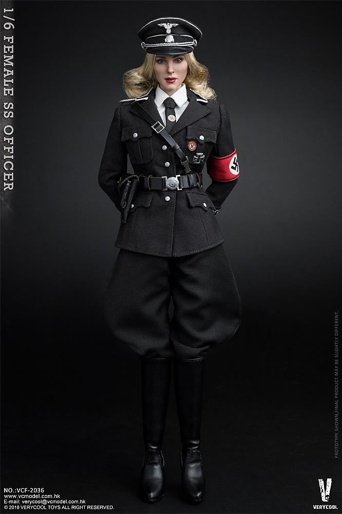 VeryCool - NEW PRODUCT: VERYCOOL VCF-2036 1/6 SS Female Officer 1021