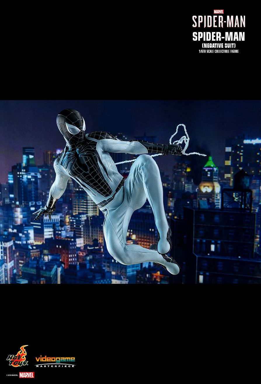 Spider-Man - NEW PRODUCT: HOT TOYS: MARVEL'S SPIDER-MAN SPIDER-MAN (NEGATIVE SUIT) 1/6TH SCALE COLLECTIBLE FIGURE (EXCLUSIVE EDITION) 10210