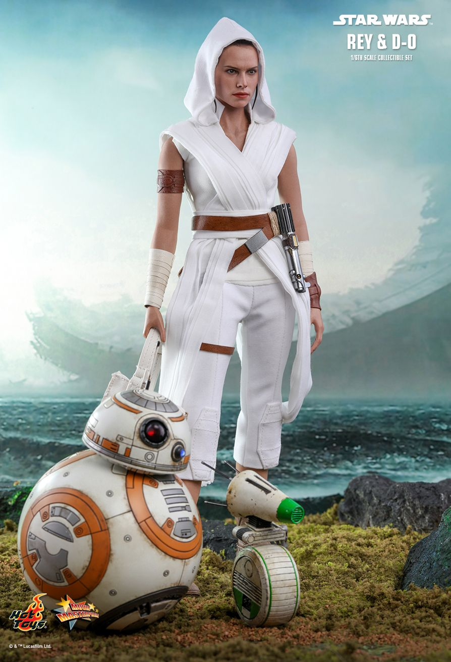 Rey - NEW PRODUCT: HOT TOYS: STAR WARS: THE RISE OF SKYWALKER REY AND D-O 1/6TH SCALE COLLECTIBLE FIGURE 10211