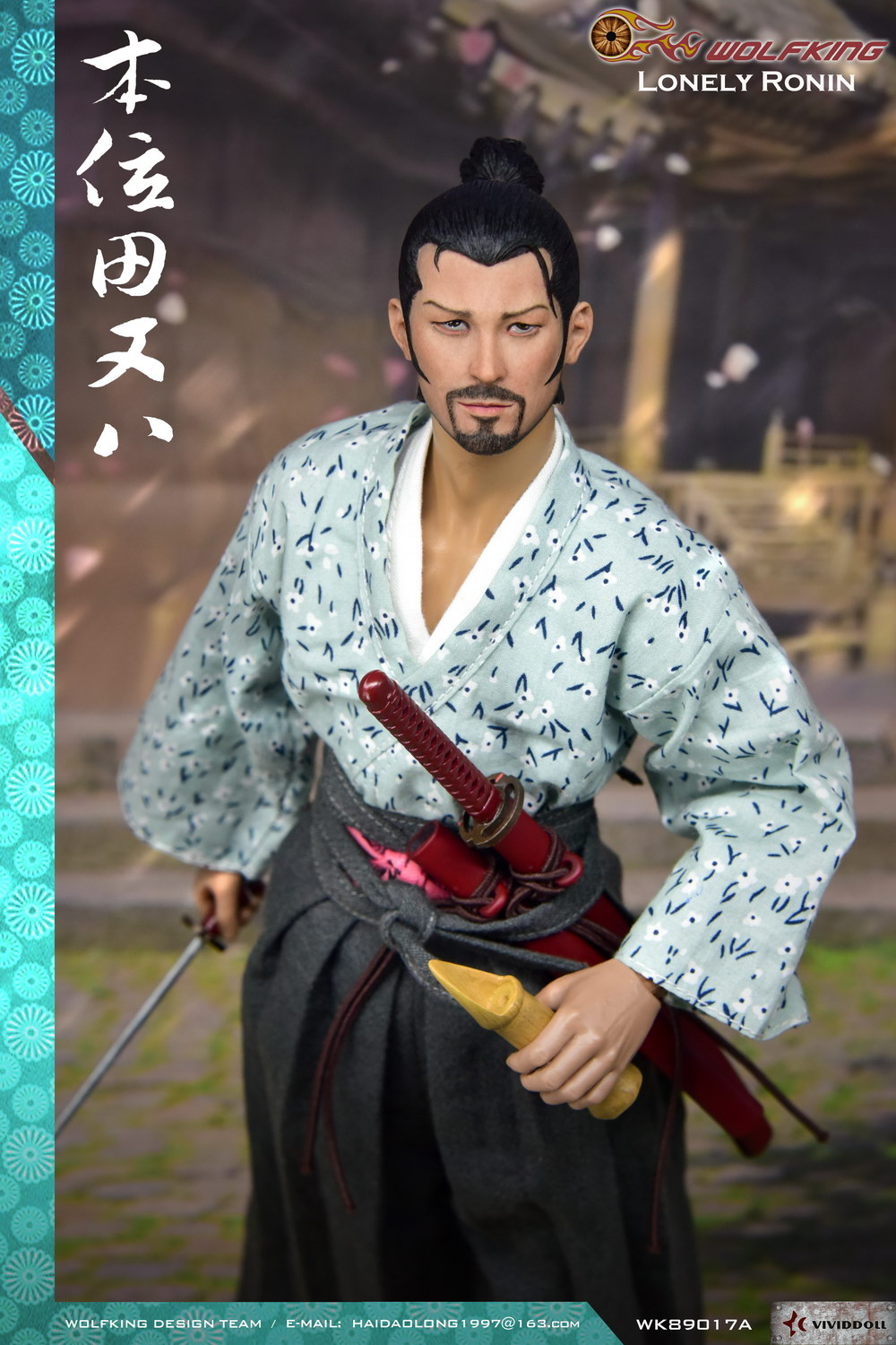 Stylized - NEW PRODUCT: WOLFKING New Products: 1/6 Lonely Ronin - Bian Tian and eight movable dolls WK89017A 10212410