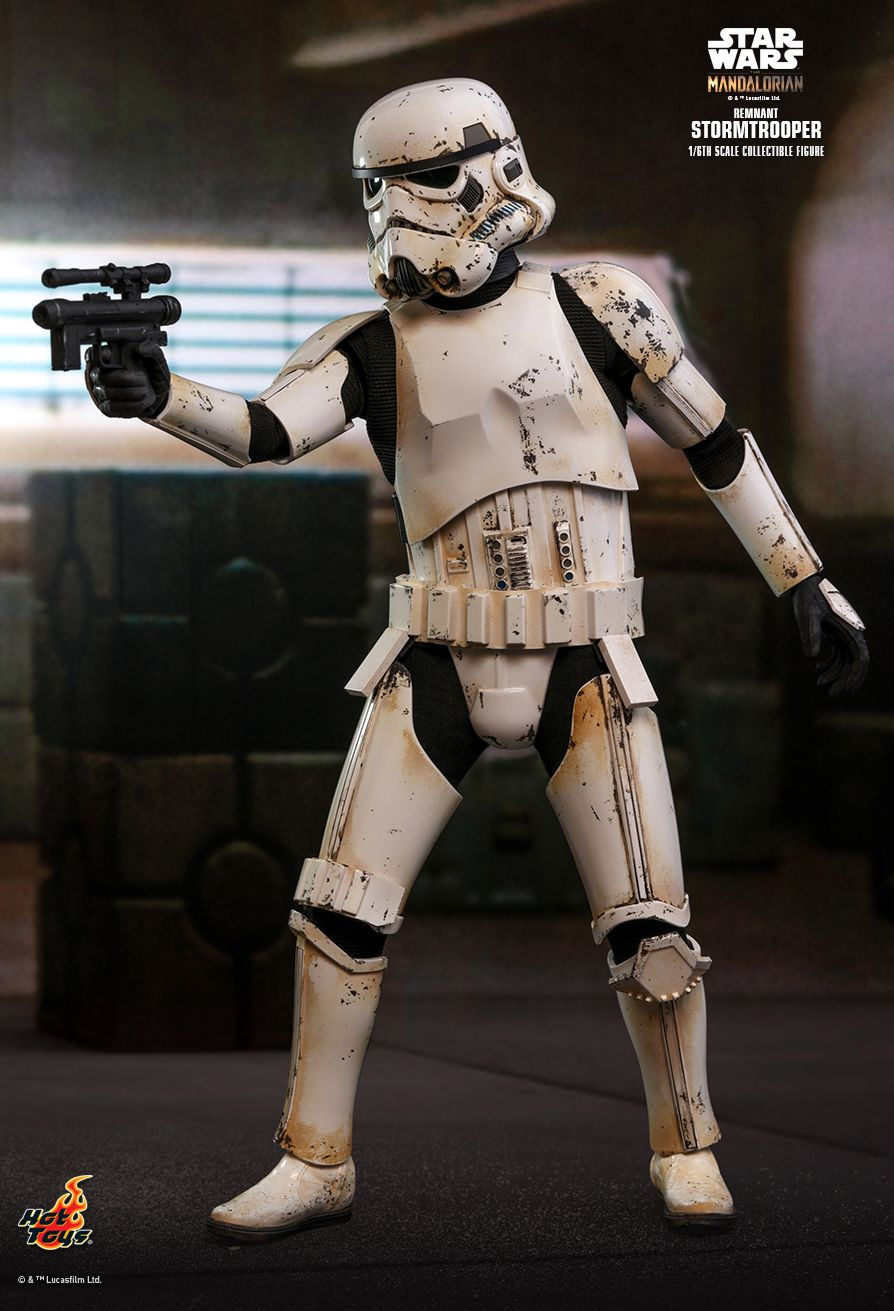 sci-fi - NEW PRODUCT: HOT TOYS: THE MANDALORIAN REMNANT STORMTROOPER 1/6TH SCALE COLLECTIBLE FIGURE 10222