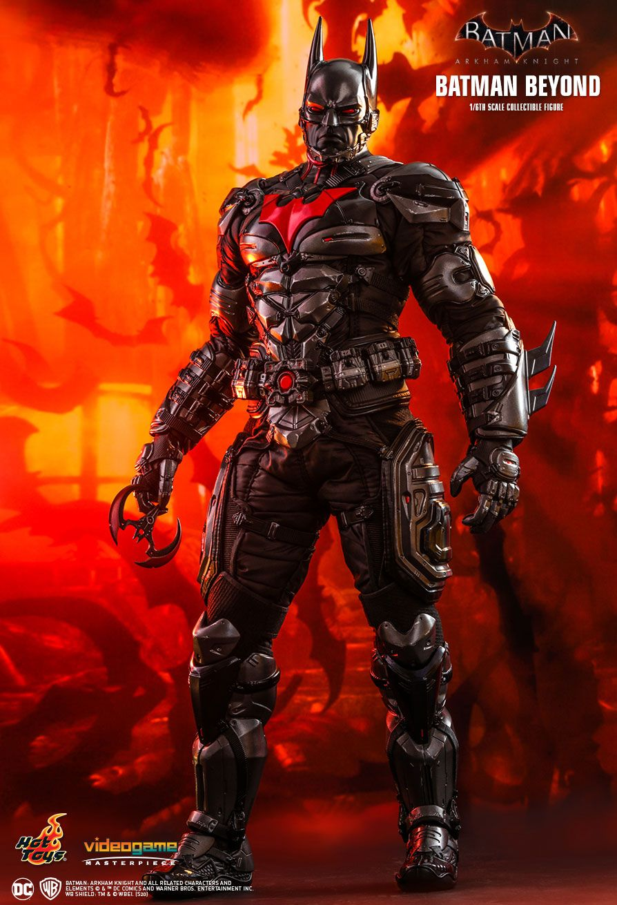 BatmanBeyond - NEW PRODUCT: HOT TOYS: BATMAN: ARKHAM KNIGHT BATMAN BEYOND 1/6TH SCALE COLLECTIBLE FIGURE 10233