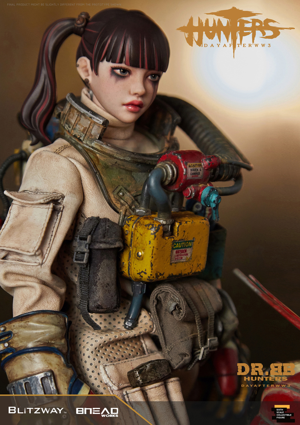 Robot - NEW PRODUCT: Blitzway: 1/6 scale HUNTERS : Day After WWlll: Dr.BB Action Figure 10247