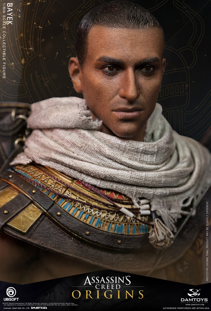 male - NEW PRODUCT: 1/6 DamToys Assassin's Creed Origins - Bayek 1/6 scale figure 10259