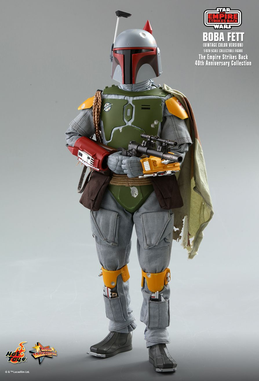 sci-fi - NEW PRODUCT: HOT TOYS: STAR WARS: THE EMPIRE STRIKES BACK™ BOBA FETT™ (VINTAGE COLOR VERSION) (40TH ANNIVERSARY COLLECTION) 1/6TH SCALE COLLECTIBLE FIGURE 10262
