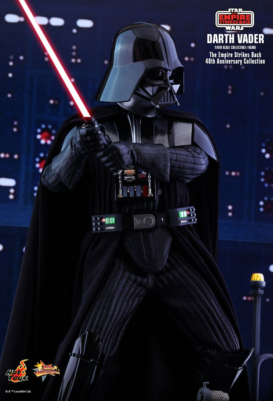 40thAnniversaryCollection - NEW PRODUCT: HOT TOYS: STAR WARS: THE EMPIRE STRIKES BACK™ DARTH VADER™ (40TH ANNIVERSARY COLLECTION) 1/6TH SCALE COLLECTIBLE FIGURE 10263