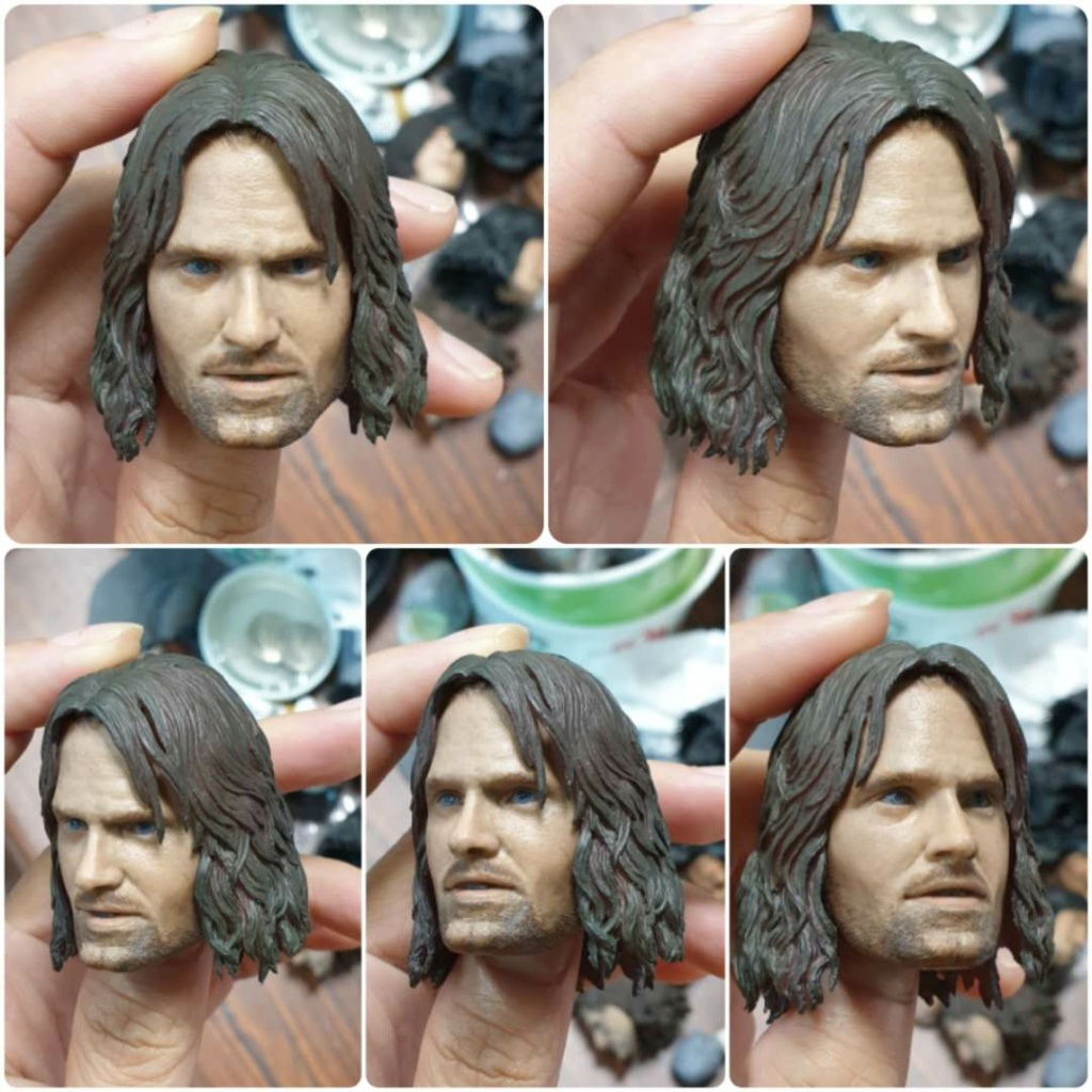 BattleofHelm - NEW PRODUCT: ASMUS: ARAGORN : THE BATTLE OF HELM'S DEEP 1/6 SCALE FIGURE (Standard & Deluxe editions) 10280410