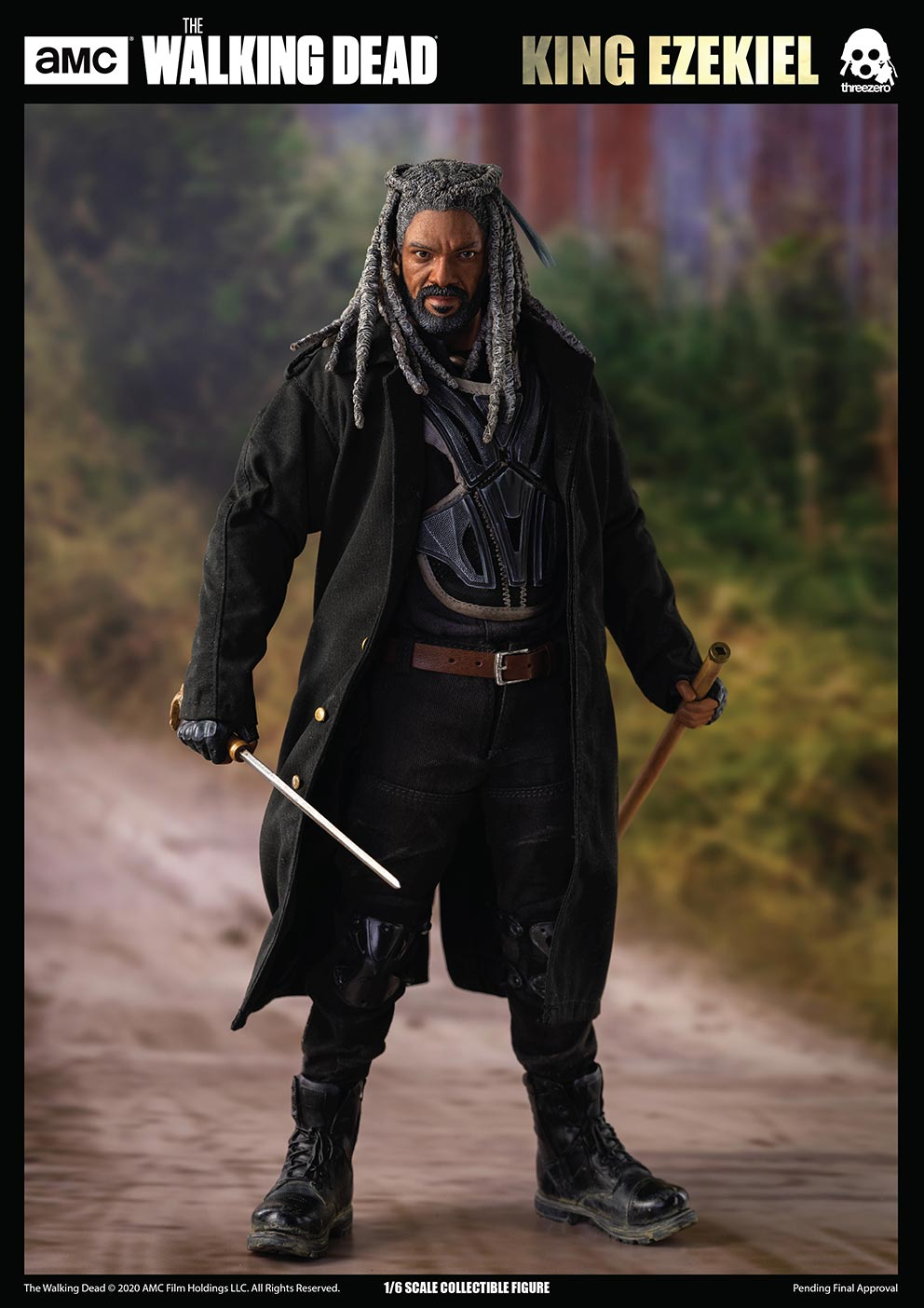 walkingdead - NEW PRODUCT: Threezero: The Walking Dead – 1/6 King Ezekiel 10287