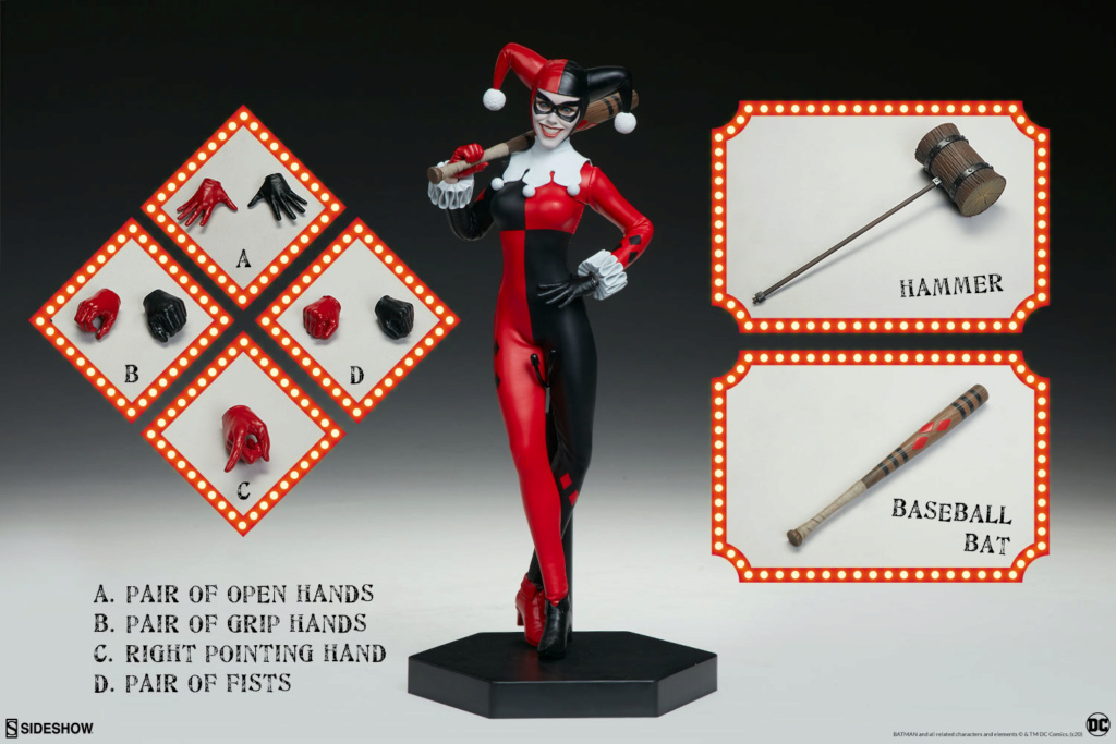 batman - NEW PRODUCT: Sideshow Collectibles: Harley Quinn Sixth Scale Figure 10288