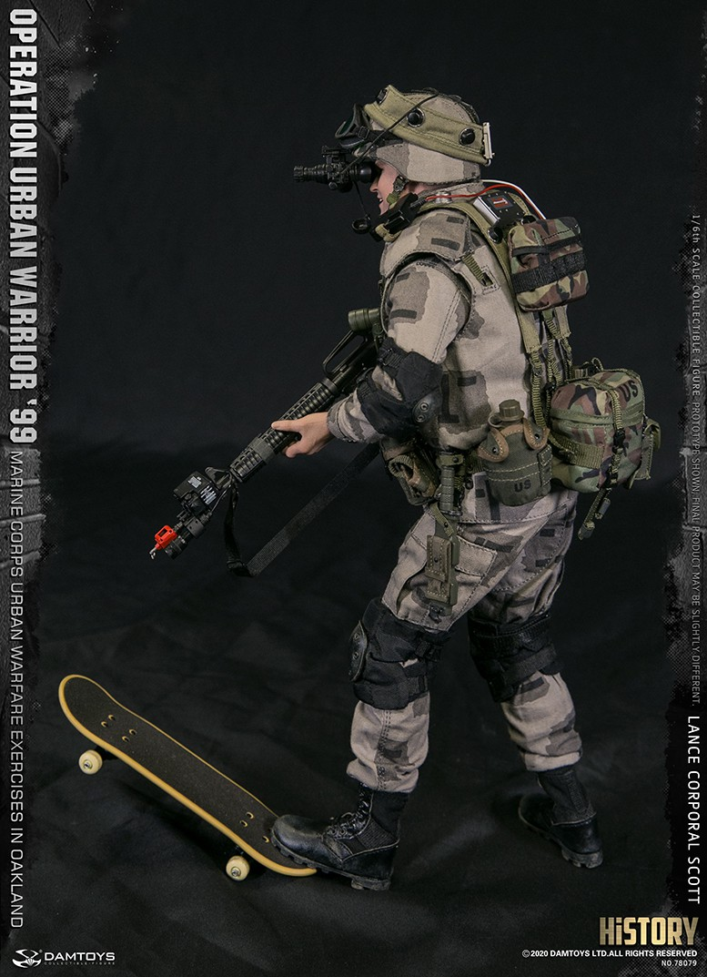 MarineCorps - NEW PRODUCT: DAMToys: 1/6 '99 City Warrior Operation-Marine Corps Oakland City Battle Exercise - Lance Corporal Scott #78079 10294