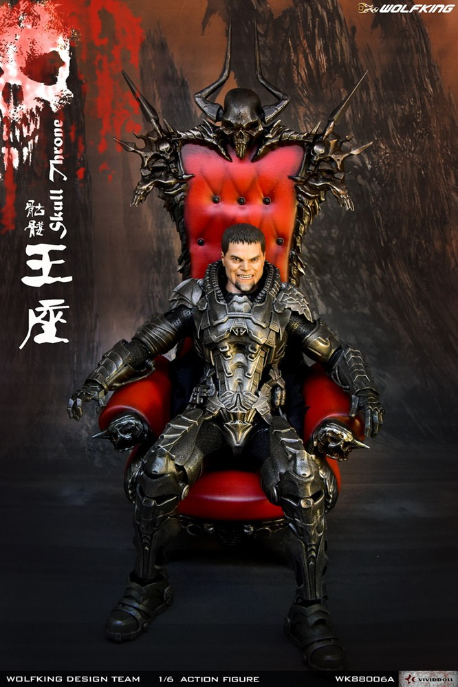 Wolfking - NEW PRODUCT: WolfKing: 1/6 Skull Throne scene decoration-WK88006A 10390110