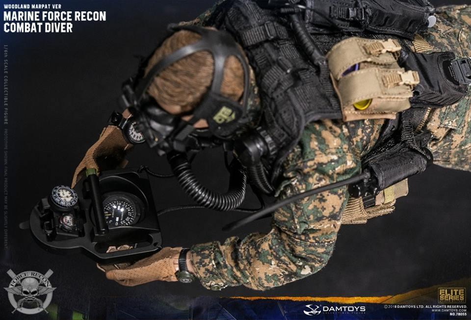 DamToys - NEW PRODUCT: DAM Toys: Marine Force Recon Combat Diver (Desert MARPAT) (GIDAM-78056) & (Woodland MARPAT) (GIDAM-78055) 1042