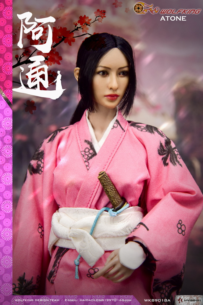 japanese - NEW PRODUCT: WOLFKING: (modified version) 1 / 6 rogue series - Atong ATONE movable doll WK89018A 10421510