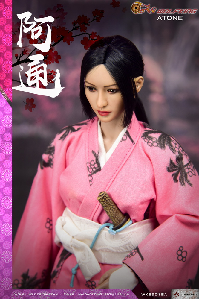 Wolfking - NEW PRODUCT: WOLFKING: (modified version) 1 / 6 rogue series - Atong ATONE movable doll WK89018A 10421710
