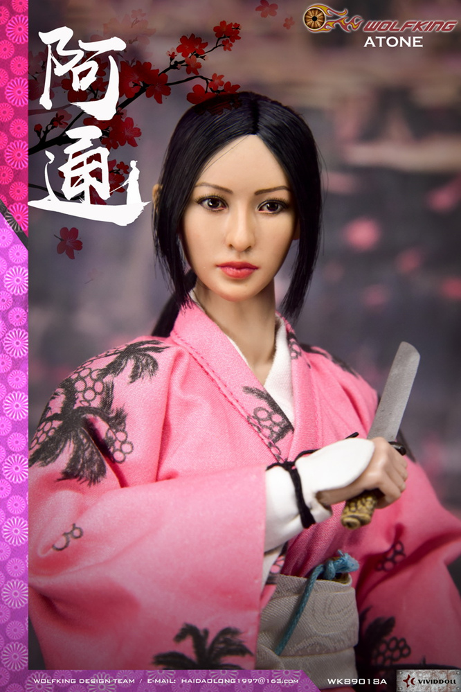 japanese - NEW PRODUCT: WOLFKING: (modified version) 1 / 6 rogue series - Atong ATONE movable doll WK89018A 10421810