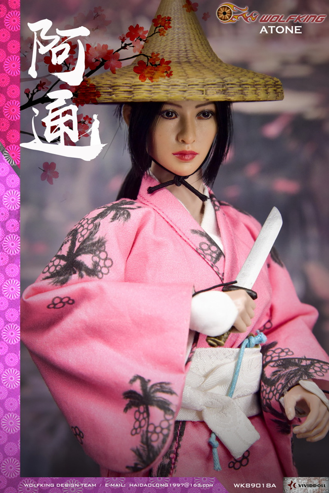 japanese - NEW PRODUCT: WOLFKING: (modified version) 1 / 6 rogue series - Atong ATONE movable doll WK89018A 10422410
