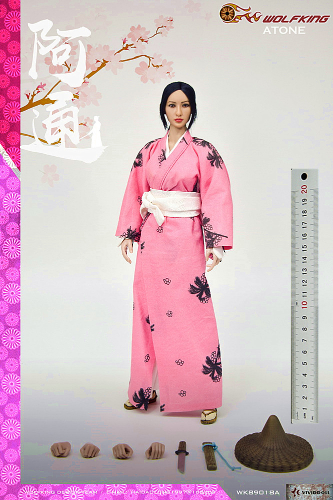 japanese - NEW PRODUCT: WOLFKING: (modified version) 1 / 6 rogue series - Atong ATONE movable doll WK89018A 10424210