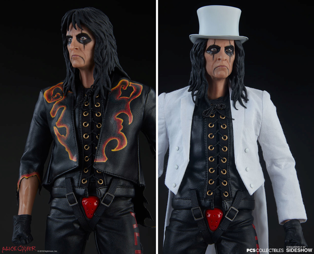 NEW PRODUCT: Alice Cooper Sixth Scale Figure by Pop Culture Shock 1073