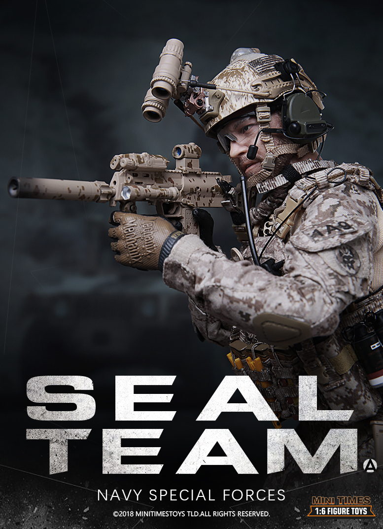 NEW PRODUCT: MINI TIMES TOYS US NAVY SEAL TEAM SPECIAL FORCES 1/6 SCALE ACTION FIGURE MT-M012 1074