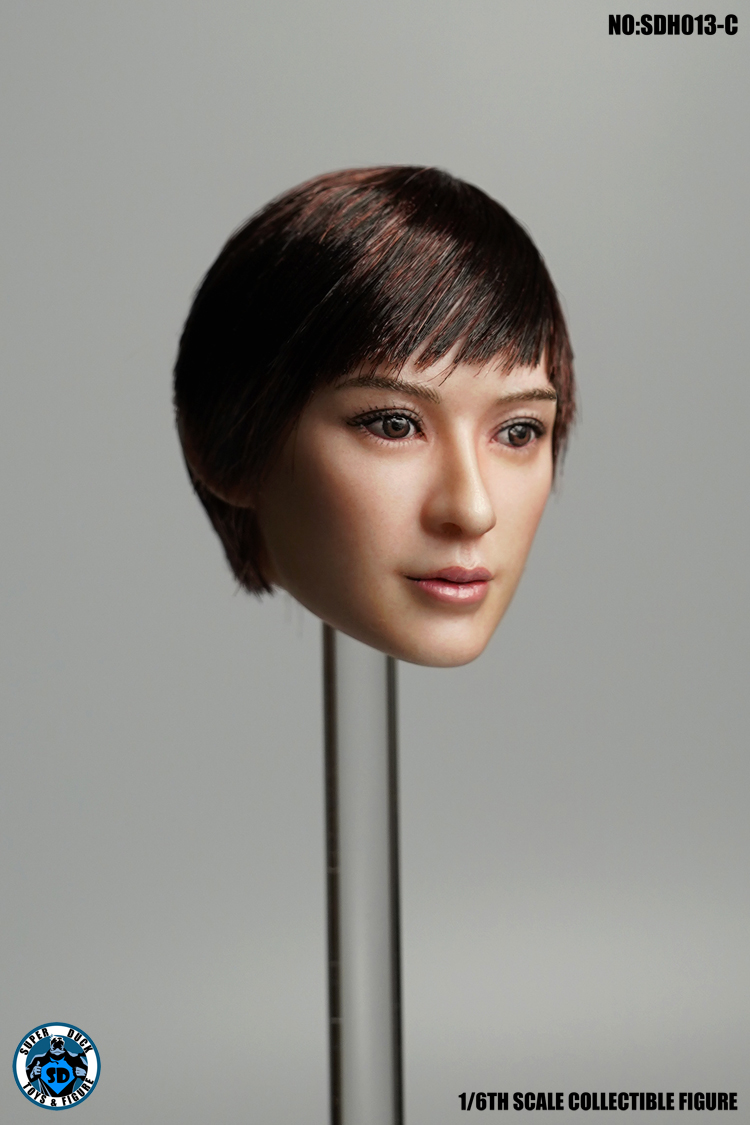 superduck - NEW PRODUCT: SUPER DUCK New product: 1/6 SDH013 female head carving - ABC three models 1080