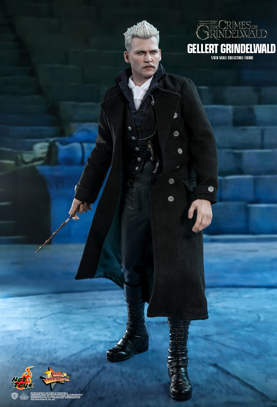 NEW PRODUCT: HOT TOYS: FANTASTIC BEASTS: THE CRIMES OF GRINDELWALD GELLERT GRINDELWALD 1/6TH SCALE COLLECTIBLE FIGURE 1088