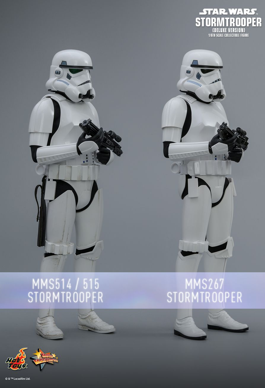 stormtrooper - NEW PRODUCT: HOT TOYS: STAR WARS STORMTROOPER (DELUXE VERSION) 1/6TH SCALE COLLECTIBLE FIGURE 1090