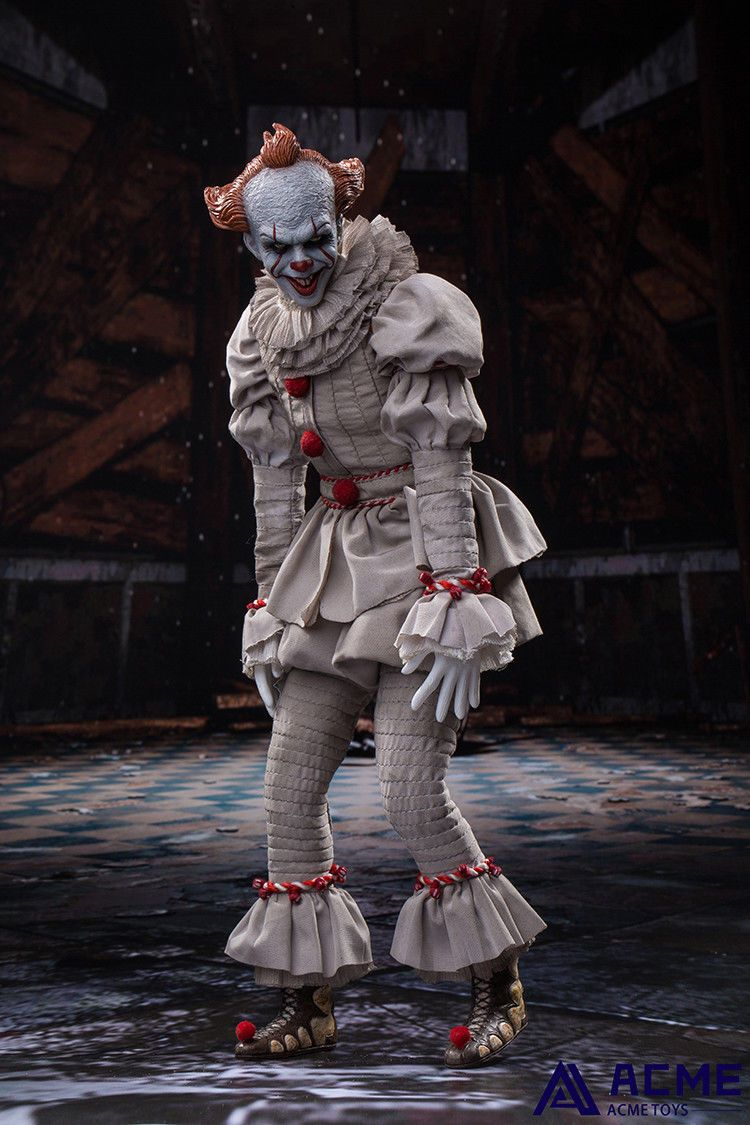 horror - NEW PRODUCT: 1/6 scale ACME TOYS Clown IT Action Figure 10_14711