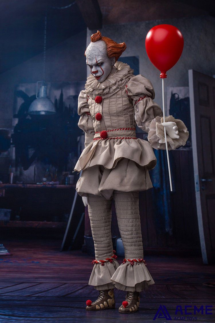 horror - NEW PRODUCT: 1/6 scale ACME TOYS Clown IT Action Figure 10_55810