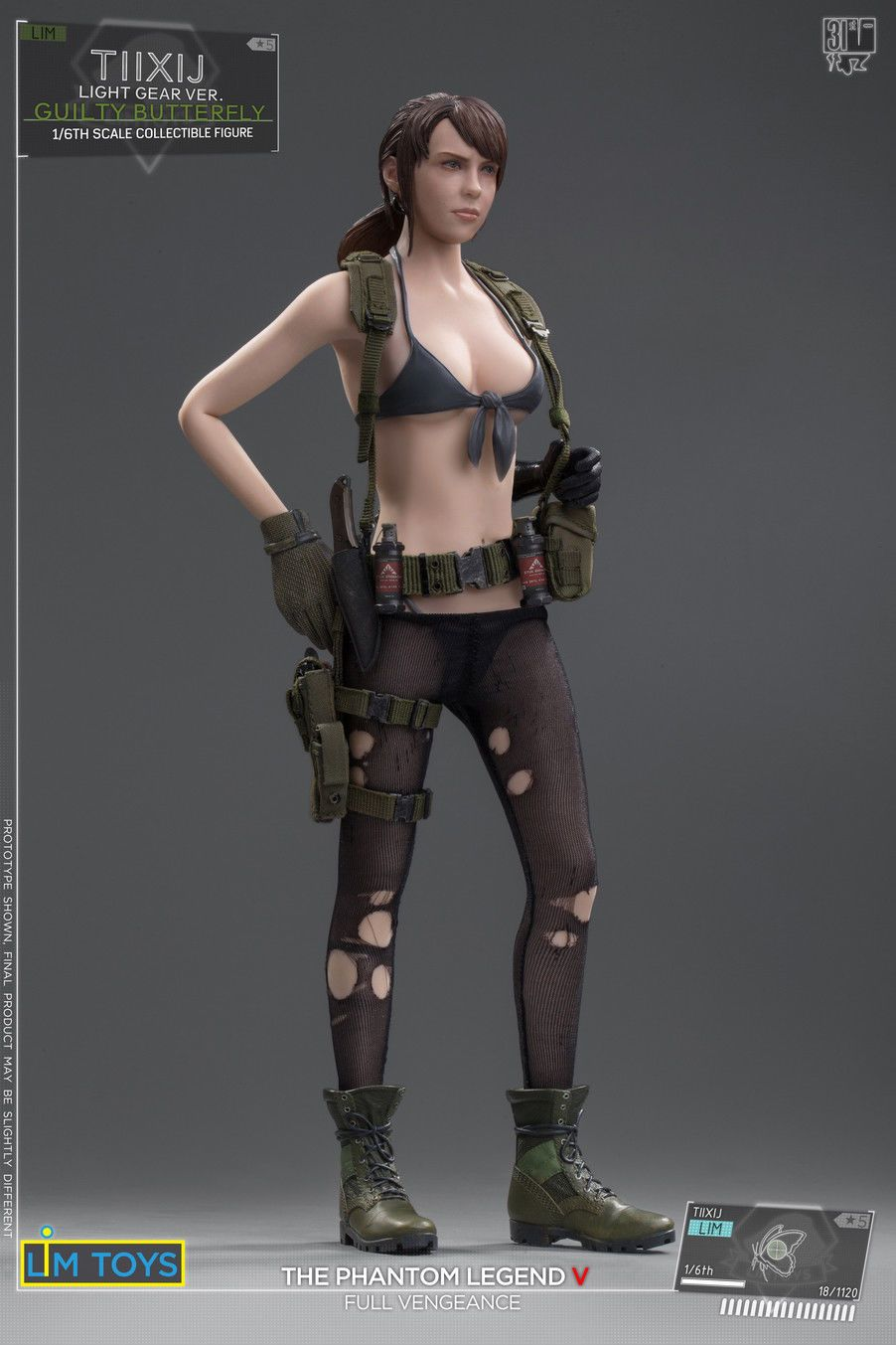 Videogame - NEW PRODUCT: 1/6 Scale LIMTOYS TIIXIJ GUILTY BUTTERFLY VER. (No body) Quiet 10_5b710