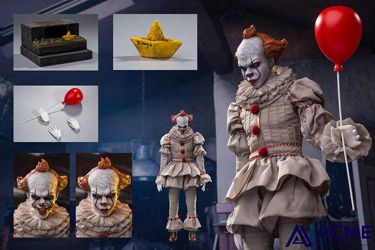 horror - NEW PRODUCT: 1/6 scale ACME TOYS Clown IT Action Figure 10_63710