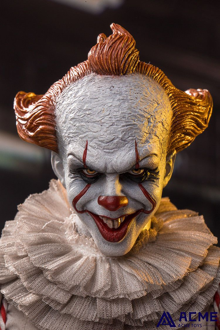 horror - NEW PRODUCT: 1/6 scale ACME TOYS Clown IT Action Figure 10_d7310