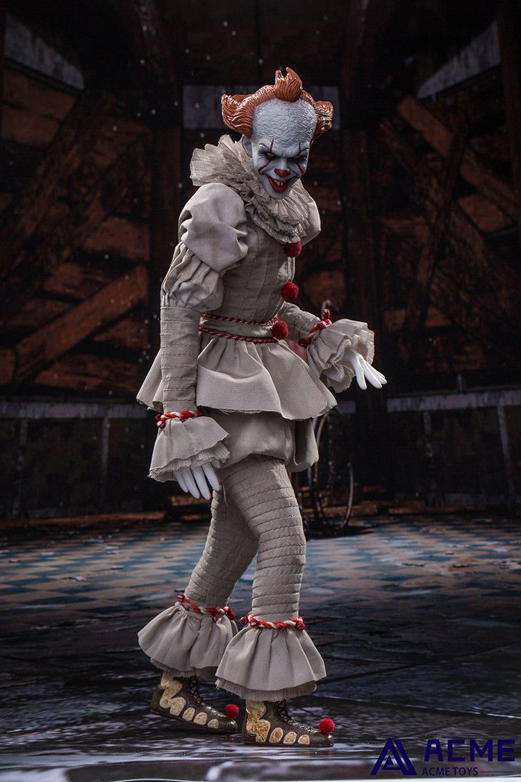 horror - NEW PRODUCT: 1/6 scale ACME TOYS Clown IT Action Figure 10_e7a10