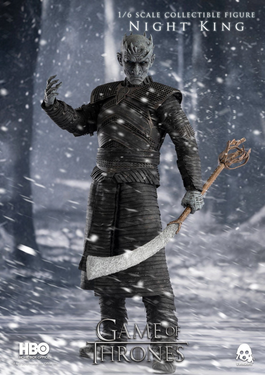 "fantasy - NEW PRODUCT: ThreeZero: 1/6 ""Game of Thrones"" - Night King / Night King 11001010"