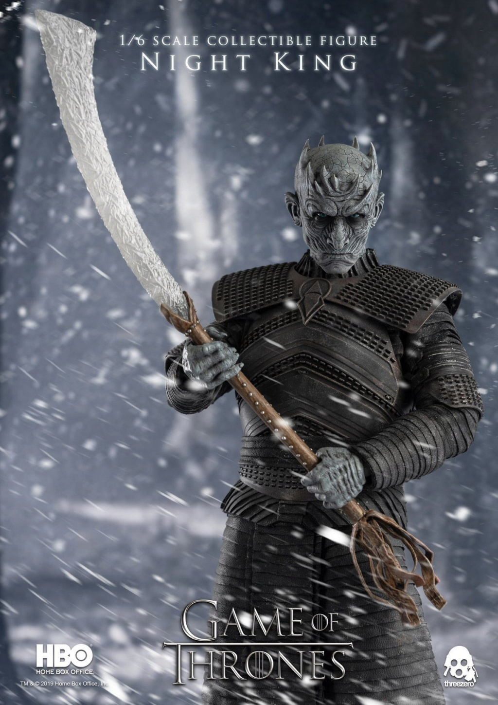 "fantasy - NEW PRODUCT: ThreeZero: 1/6 ""Game of Thrones"" - Night King / Night King 11001310"