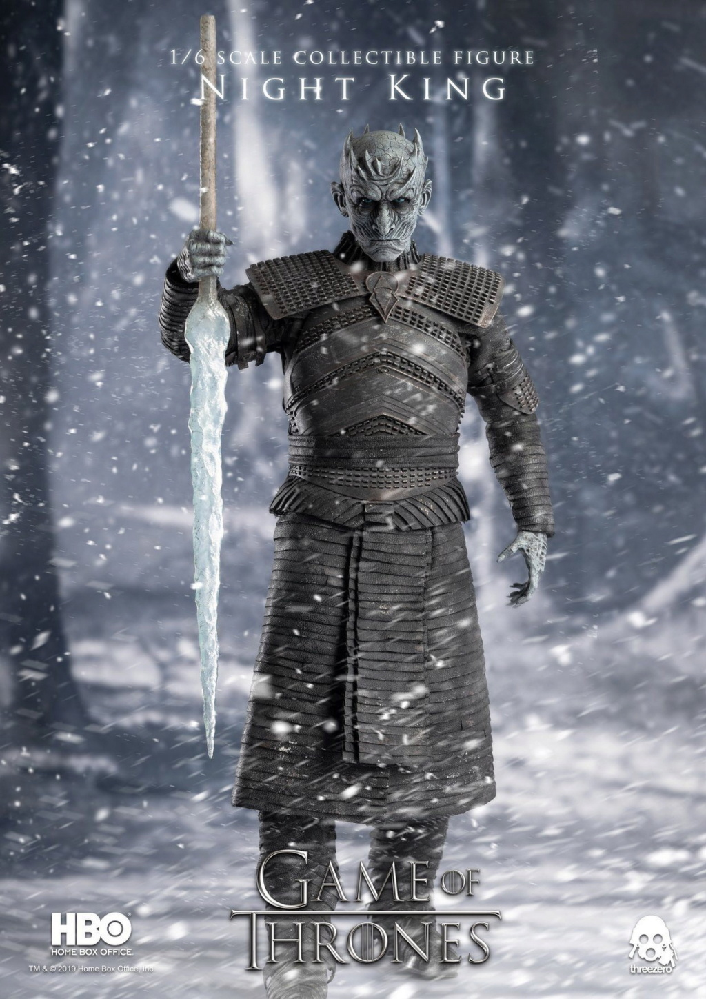 "fantasy - NEW PRODUCT: ThreeZero: 1/6 ""Game of Thrones"" - Night King / Night King 11001810"