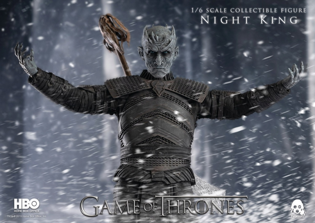 "fantasy - NEW PRODUCT: ThreeZero: 1/6 ""Game of Thrones"" - Night King / Night King 11002310"